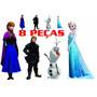 Kit Cenario Frozen 8 Peças Toten De Chao