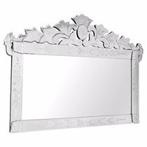 Espelho Bisote Para Sala Jantar Grande Retangular
