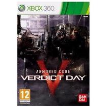 Game Armored Core: Verdict Day - Xbox 360 (mídia Física)
