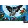 Batman Lego Painel 2,00x1,00 Lona Aniversario Decoração