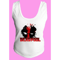 Camiseta Babylook Feminina Deadpool Dead Pool Deadpu 02