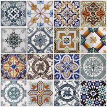 Papel De Parede Para Cozinha - Azulejo Português - Lavável