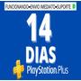 14 Dias Psn - Ps4 - Leia A Descrição /envio Imediato Original