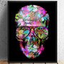 Quadro Art Impressa Caveira Skull Mexicana Photo Mate 80x100