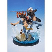 Monkey D Luffy E Trafalgar Law One Piece Bandai Ba-10240