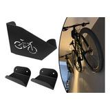 Suporte Para Bicicleta Parede Bike Mtb Ou Speed Bike Preto