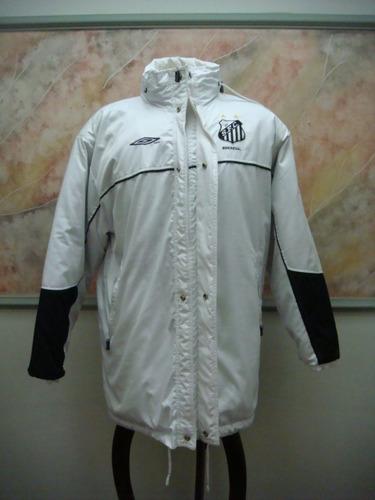 2a246a3b1d Santos F. C. Blusão Inverno Futebol Umbro Antigo S-106