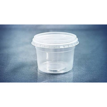 Pote Descartavel 250ml P/ Bolo No Pote C/24un Micro Freezer
