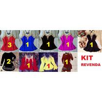 Kit Revenda Vestido Longo Curto Macacão Diversos Modelos