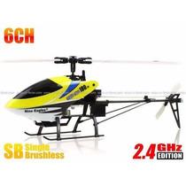 Helicóptero Nine Eagles Solo Pro 180d Red 6ch 2.4ghz Rtf