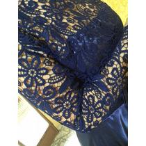 Vestido Longo De Festa - Madrinha De Casamento - Azul Royal