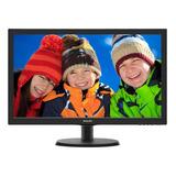Monitor Philips 223v5lhsb2 Lcd 21.5  Preto 110v/220v (bivolt)