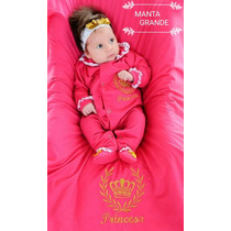 Kit Saida Maternidade Menina Princesa