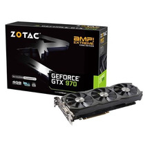 Geforce Zotac Gtx Nvidia Zt-90107-10p Gtx 970 4gb Ddr5 256