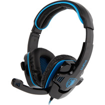 Headset Gamer 7.1 Usb Original Sades Sa-901 Pc Wolfang