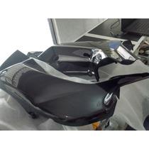Carenagem Lateral Moto Honda Pop 100 Preta