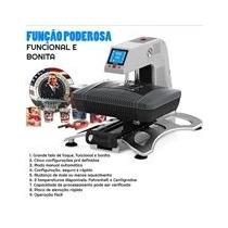 Prensa Térmica 3d E Plana Multi Funções De Sublimação 110v