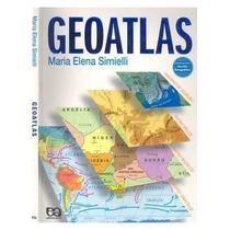 Livro Geoatlas Maria Elena Simielli Editora Atica Livro Novo