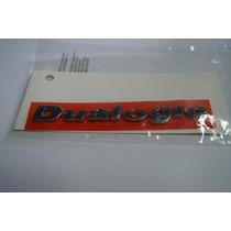 Emblema Dualogic Cromado Linha Fiat