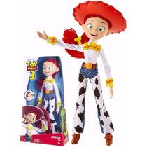 Boneca Jessie Articulada 30cm - Toy Story - R7212 Mattel