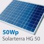 Painel Solar Fotovoltaico 50wp Hg50 / Fabricante Solarterra