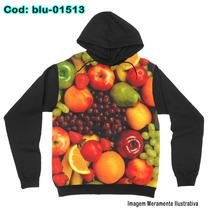Blusa Moletom Unissex Chef - Frutas