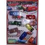 Carrinhos Fricção Filme Carros 3 Relampago Mcqueen Kit 8