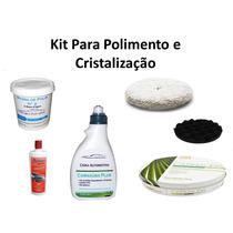 Kit Para Polimento & Cristalização