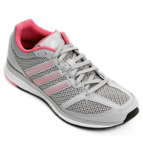 Tenis adidas Mana Rc Bounce Cinza rosa 58f65e13edf26