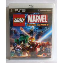 Lego Marvel Super Heroes - Jogo Infantil Ps3 - Novo Lacrado