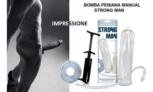 Aumento Peniano Grande Bomba Peniana Manual Seringa Toy 0254