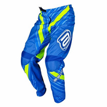 Calça Asw Factory Limited Azul Motocross Fox Ims