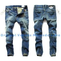 Calça Jeans Masculina Adidas Denim 2016 - Alta Qualidade