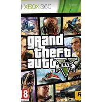 Jogo Gta 5 Xbox 360 Novo Original