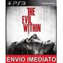 The Evil Within Ps3 Psn Digital Jogo De Terror Imediato