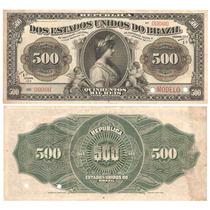 Rc1808 R158m 500 Mil Réis Tesouro Nacional Modelo 1911