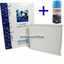 Kit Filtro Cabine Hilux + 1 Higienizador Clean Mil Mp 740