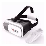 Oculos 3d Rift Realidade Virtual Cardboard Vr Box + Control