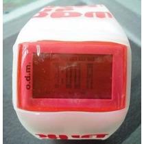 Relógio De Pulso Odm Digital Fashion Unissex Prova D
