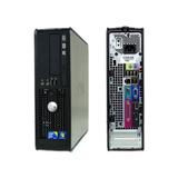 Mini Cpu Dell Optiplex 780 Core 2  4gb Hd 500 + Monitor 17
