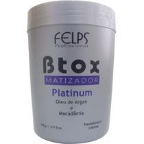 Redutor De Volume Btox Matizador Platinum Felps 500g+ Brinde