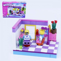 Bloco De Montar (146pcs) 22x15cm Fairyland Compt. Lego