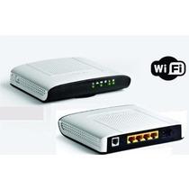 Modem Roteador Wifi Adsl2+ Gvt Technicolor Td5130v2