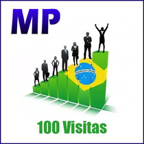 100 Visitas Reais Brasileira Para Blogger*