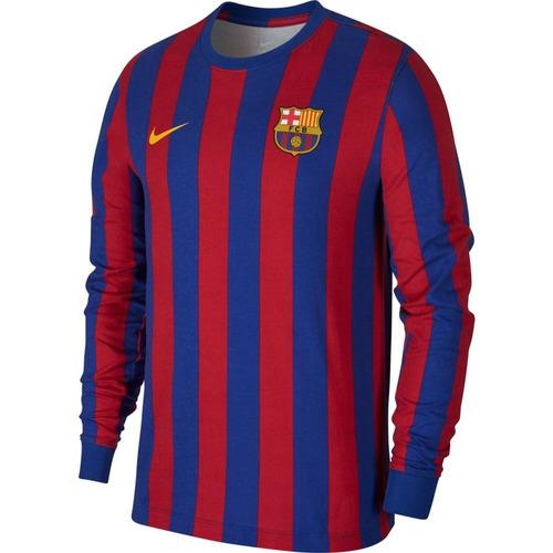 2f459dced0 Camiseta Nike Manga Longa Barcelona Retrô - Original à venda em ...