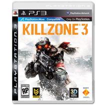 Jogo Killzone 3 Para Ps3 /semi Novo/barato!!!!
