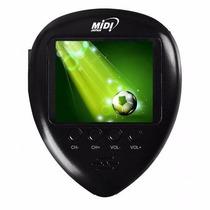 Mini Tv Portatil De Bolso Lcd 1.8 Midi Tv Fm E Relógio