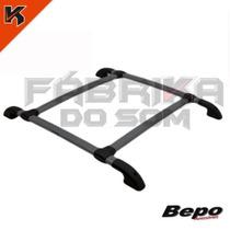 Bagageiro Teto Rack Bepo Chevrolet Corsa Hatch 03/... Preto
