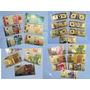 Set 20 Cédulas Douradas Euro Dolar Real Completo