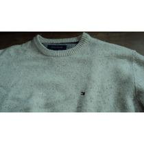 Blusa De Lã Tommy Hilfinger - Bege - Tamanho L